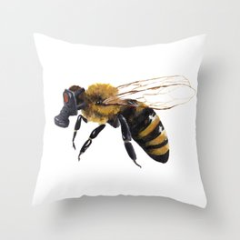The Life of a Bee Throw Pillow