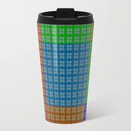 Endless pattern with change Travel Mug