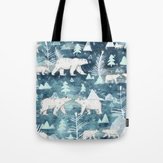 Ice Bears Tote Bag