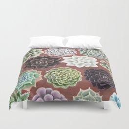 Succulent Life Duvet Cover