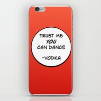 vodka iPhone & iPod Skins featuring Dance Vodka by Goretti