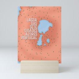 Lagoa das Sete Cidades Mini Art Print