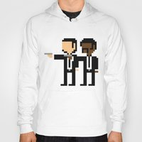 pulp Hoodies featuring Pulp Pixel by william.