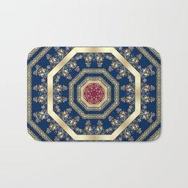 Oriental motifs Bath Mat