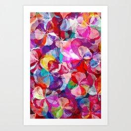 Flower carpet(57) Art Print