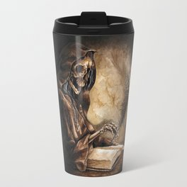 Skeleton Scribe Travel Mug