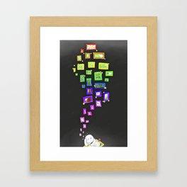 Idea Tree Framed Art Print