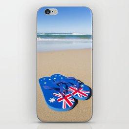 Australian Beach Thongs iPhone Skin