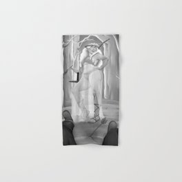 Autumn Guardian Pinup Hand & Bath Towel