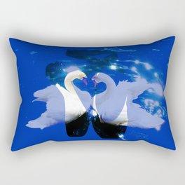 Swan shoes Rectangular Pillow
