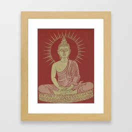 Power of Now collected from Thailand Framed Art Print
