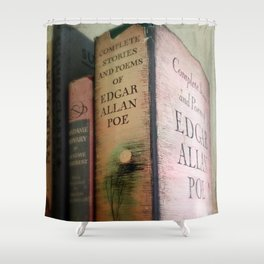 Pink Poe Shower Curtain