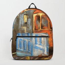 Evening tram Backpack