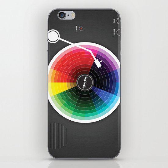 Pantune - The Color of Sound iPhone & iPod Skin
