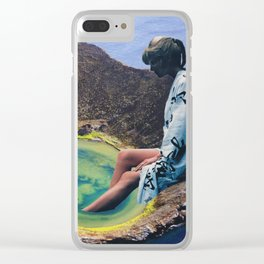 Bathing Clear iPhone Case