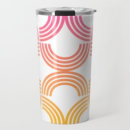 Deco Geometric 05B Travel Mug