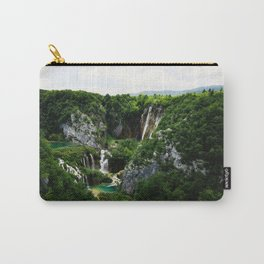 veliki slap waterfall 1 plitvice lakes national park croatia std Carry-All Pouch
