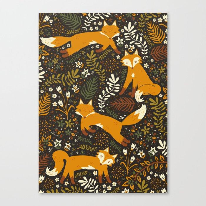 Fox Tales Canvas Print
