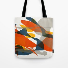 Abstract Bird Tote Bag