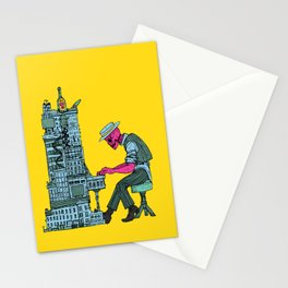 The Undead Pianist Stationery Cards