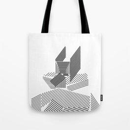 grid figures 14b19 Tote Bag