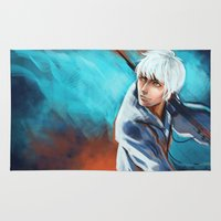 jack frost Area & Throw Rugs featuring Jack Frost by Maine