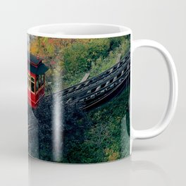 An Autumn Day on the Duquesne Incline in Pittsburgh, Pennsylvania Coffee Mug