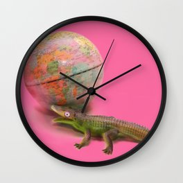 hot weather Wall Clock