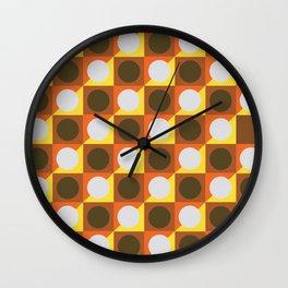 Circle gets the Square Wall Clock