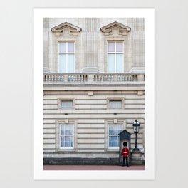Buckingham Guard Art Print