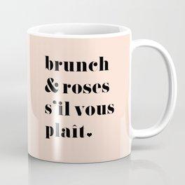 Brunch & Roses Coffee Mug