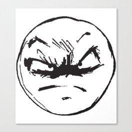face of weird Canvas Print