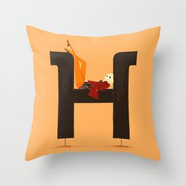Heather & Museo Throw Pillow