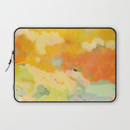 abstract spring sun Laptop Sleeve