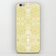 Moorish -yellow ochre iPhone & iPod Skin