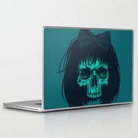 bow Laptop & iPad Skins featuring Hair bow by Roland Banrevi