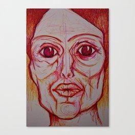 Visage 13 Canvas Print