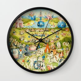 The Garden of Earthly Delights by Bosch Wall Clock