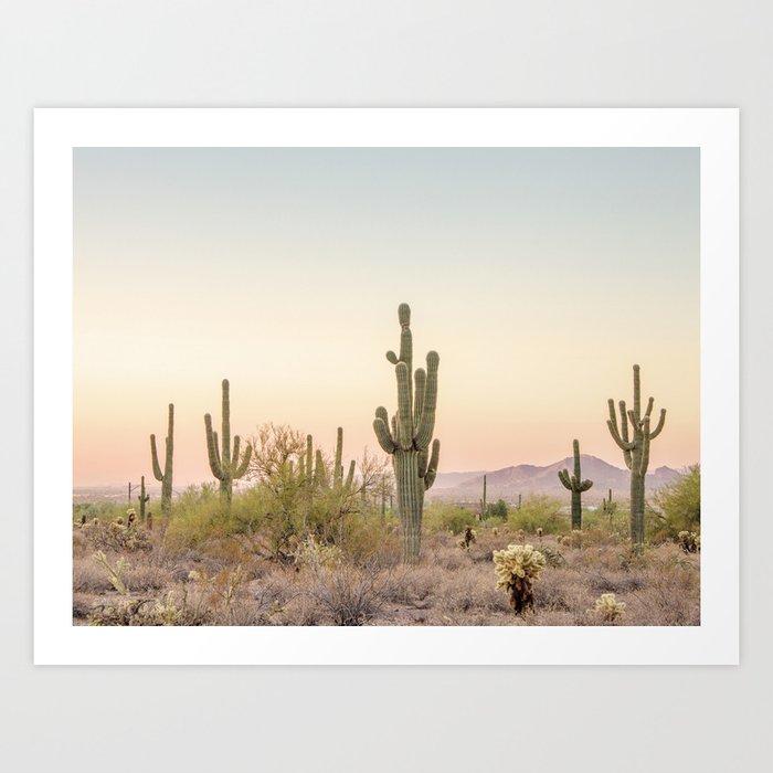 3d8b2200da1 Arizona Desert Art Print by scissorhaus