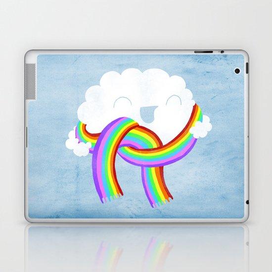 Mr clouds new scarf Laptop & iPad Skin