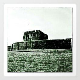 Carlisle Castle Art Print