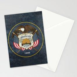 Utah State Flag - vintage version Stationery Cards