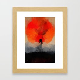 umbrellaliensunshine: atomicherry spring! Framed Art Print