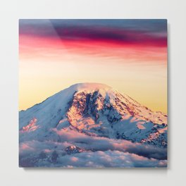 High on a Mountaintop Metal Print