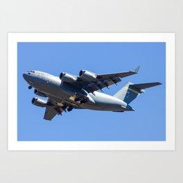 Boeing C-17 Globe Master III Art Print