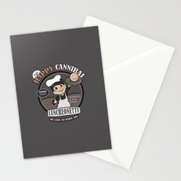 The Happy Cannibal Stationery Cards