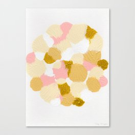 Gold pink Canvas Print