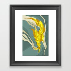 Abstract island Framed Art Print