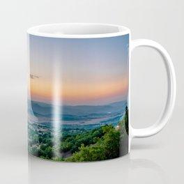 Sunrise in Macedonia Coffee Mug