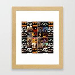 We Are All Bat-man? Framed Art Print
